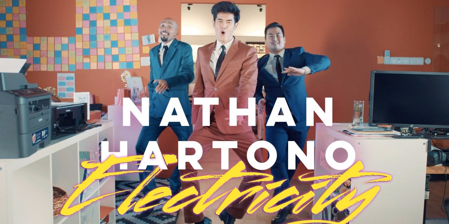 WATCH: Nathan Hartono artfully fills the role of crazed stalker in his new music video 'Electricity'