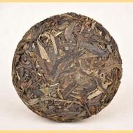 """2011 YUNNAN SOURCING """"MANG FEI"""" AGED MAO CHA MINI RAW PU-ERH TEA CAKE from Yunnan Sourcing"""