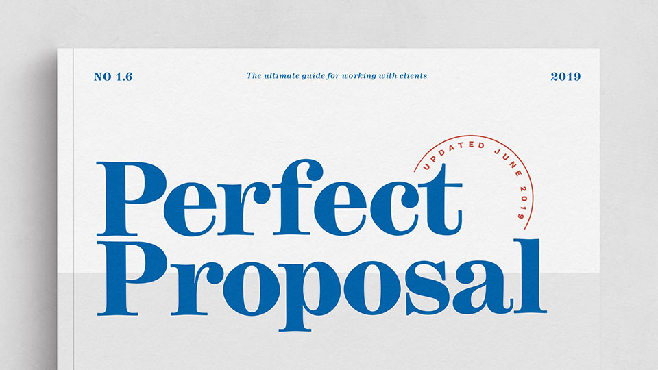 The Perfect Proposal Kit: Learn how to win more jobs & close