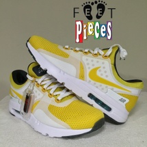 NIKE AIR MAX ZERO QS SIZE 10 789695 100 YELLOW
