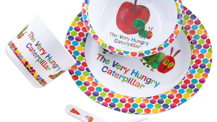The Very Hungry Caterpillar 5 piece Dinner set