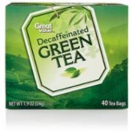Decaffeinated Green from Great Value