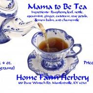 Mama to Be Tea from Home Farm Herbery