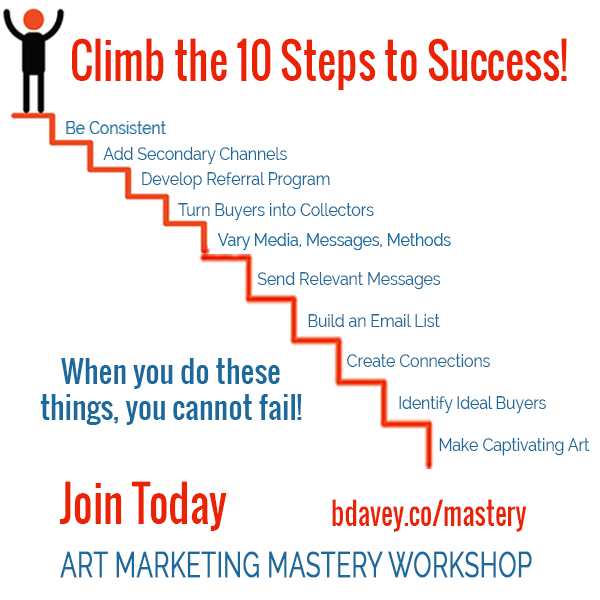 Art marketing mastery workshop my marketing courses imagine instead if you had a practical system to sell your art and forecast your sales imagine those dry spells were a thing of the past fandeluxe Gallery
