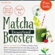 Unsweetened MatchaBooster from Maeda-en