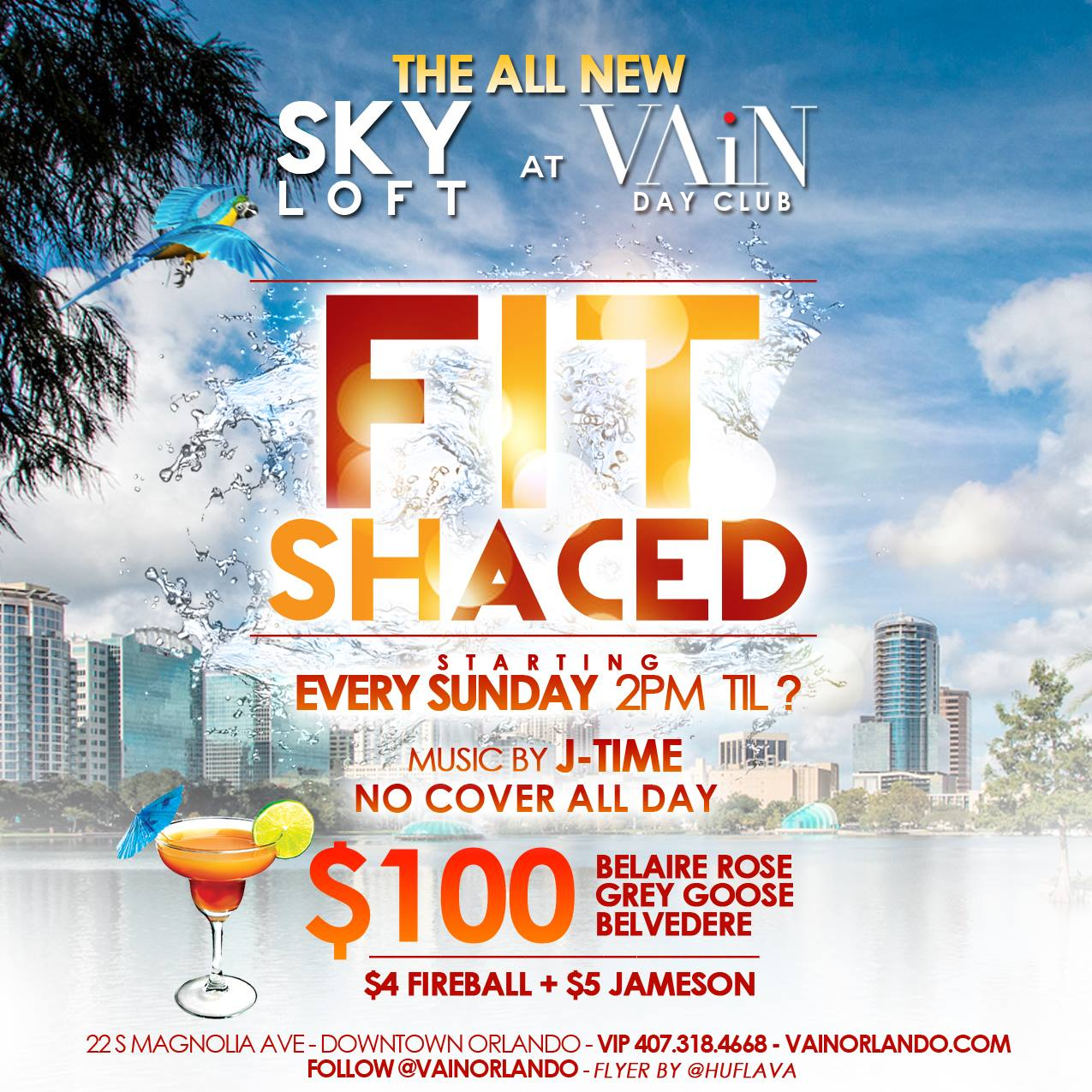 Fit Shaced | The Day Party