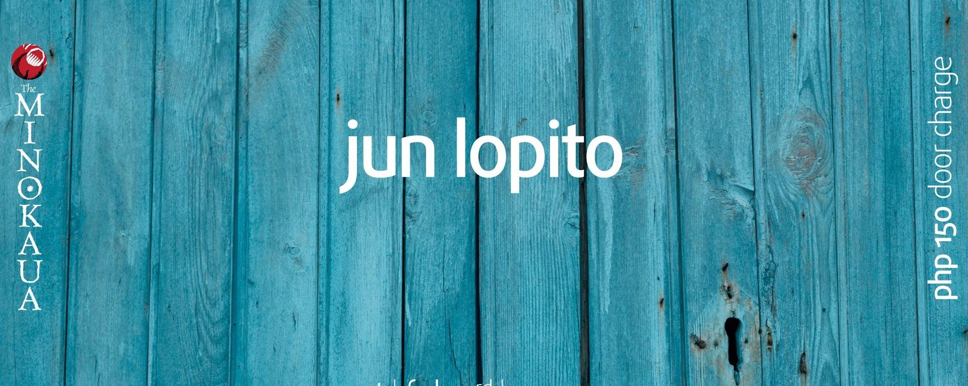 Rock Saturday with Jun Lopito