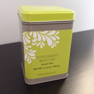 Peppermint Matcha from Steeped Tea