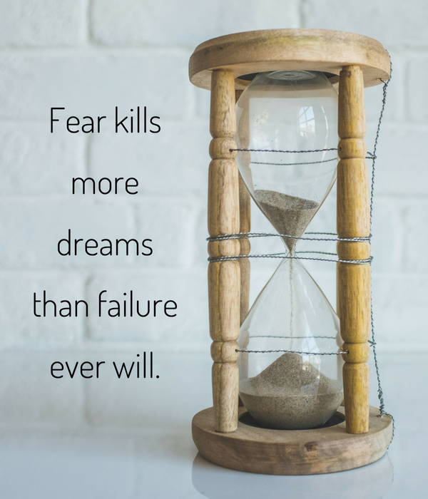 Fear kills more people