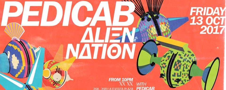 Pedicab: Alien Nation