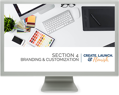 Customize your craft business website