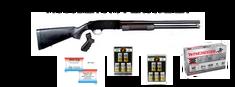 Mossberg 500 Persuader 12 Gauge Pump Action Shotgun, 20″ Barrel, W/ Pistol Grip Kit, Parkerized Finish