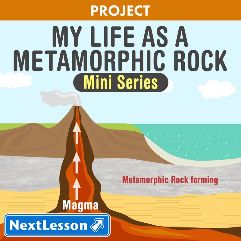 My Life as a Metamorphic Rock – Metamorphic Rocks Worksheet