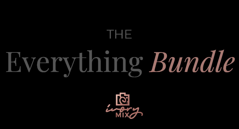 The Everything Bundle | Ivory Mix School
