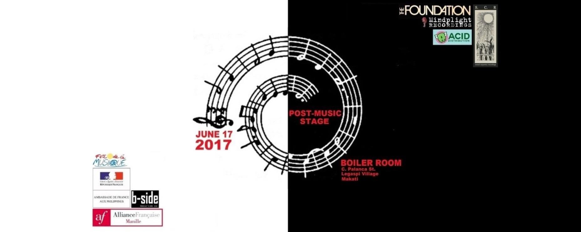 Fête de La Musique 2017: Post-music Stage