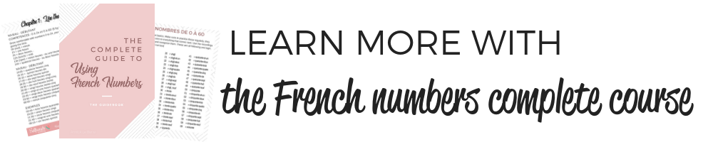 Learn the French Number - complete course