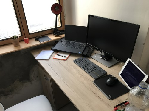My actual office in Europe that I worked from in 2017...