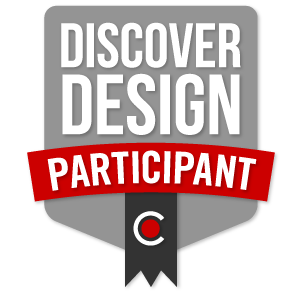 Badge for 2016 National DiscoverDesign Competition Participant