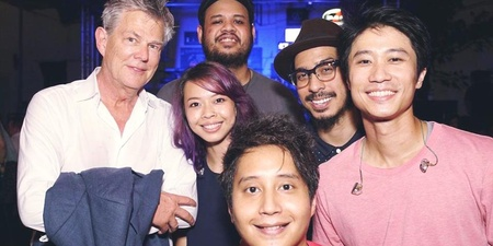 WATCH: David Foster jams 'Hard To Say I'm Sorry' with 53A at Timbre @ The Substation