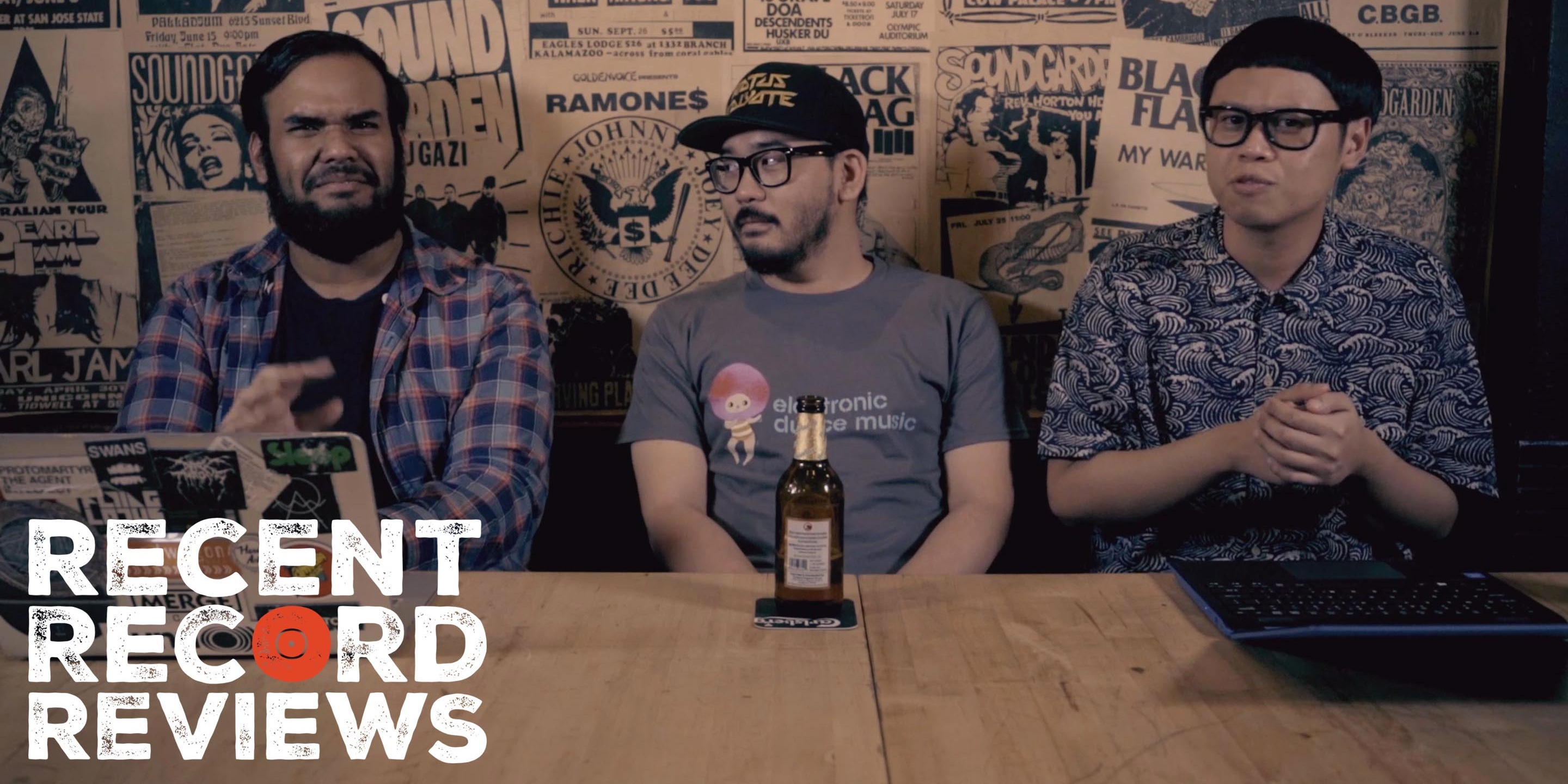 WATCH: Bandwagon Recent Record Reviews #018 - Moderat, All Saints, Luneta Freedom Jazz Collective