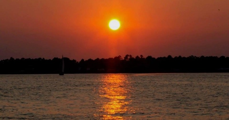 Come Enjoy The Beautiful Sunsets Of Orange Beach On Most Comfortable Dolphin Watching Boat In Area