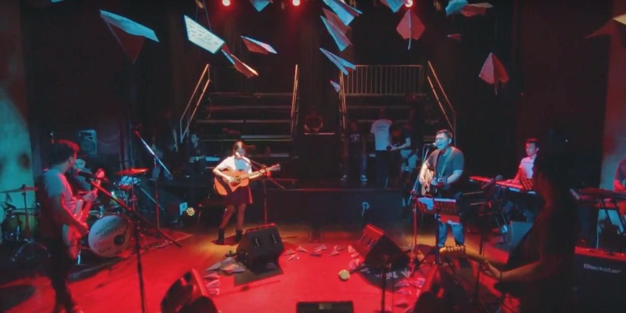 "WATCH: December Avenue performs ""Fallin'"" with Clara Benin at soundcheck"
