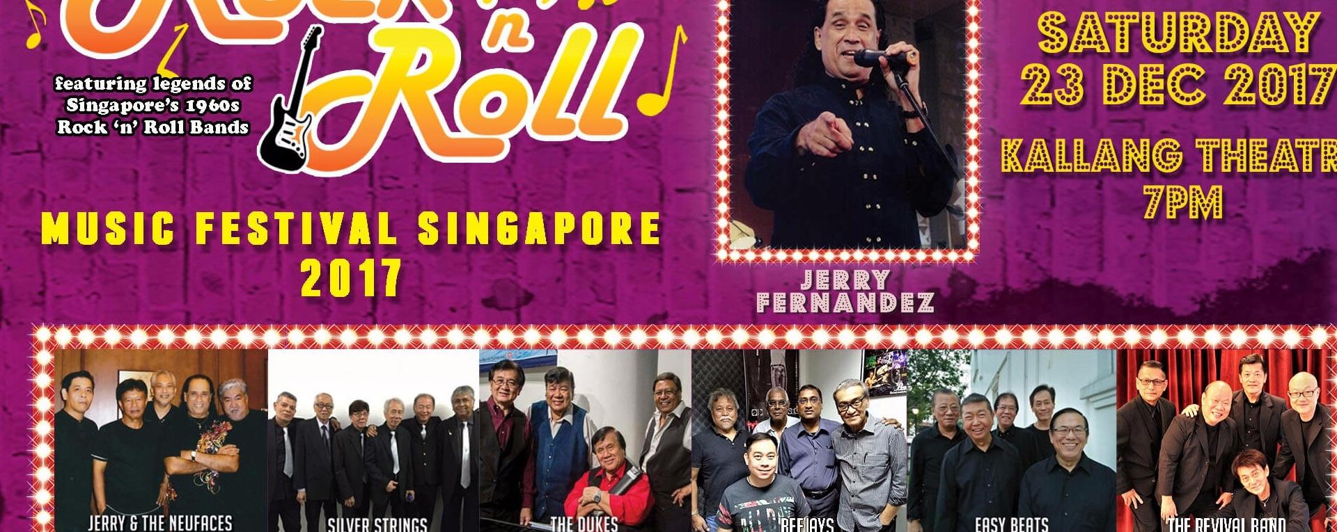 Rock 'N' Roll Music Festival Singapore 2017