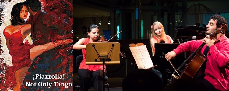 ¡Piazzolla! Not Only Tango (6 Oct)