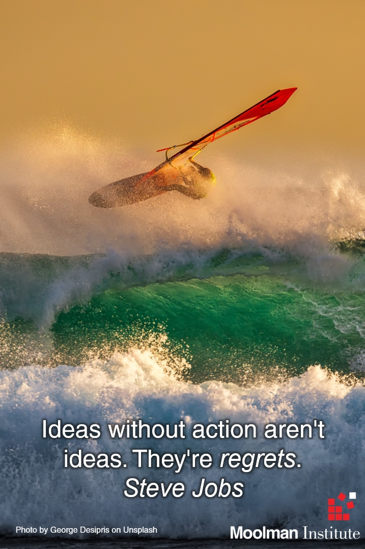 Ideas without action image