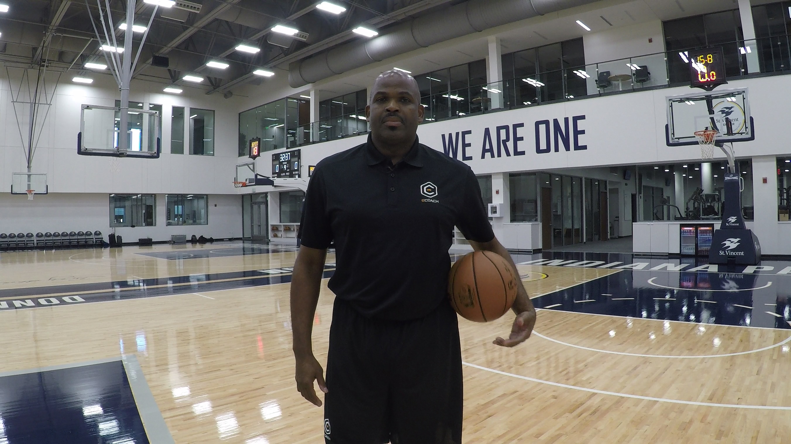 Nate McMillan NBA Coach Indiana Pacers