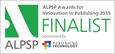ALPSP Award Finalist Overleaf