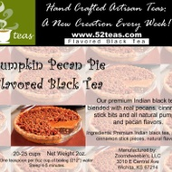 Pumpkin Pecan Pie Flavored Black from 52teas