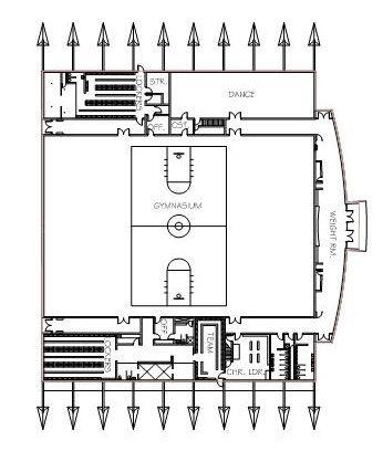 Auxiliary Gymnasium