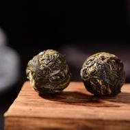 Mei Zi Qing Village Raw Pu-erh Tea Dragon Balls from Yunnan Sourcing