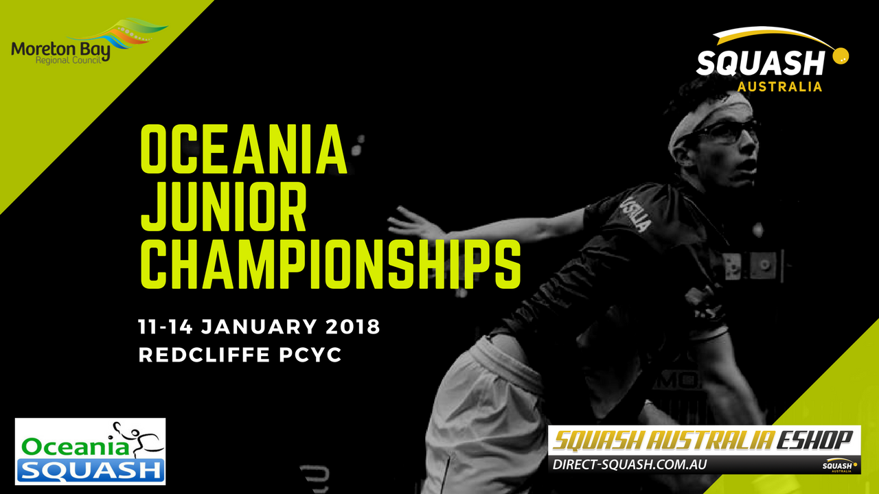 Day 1 at Oceania Junior Championships - Squash Australia