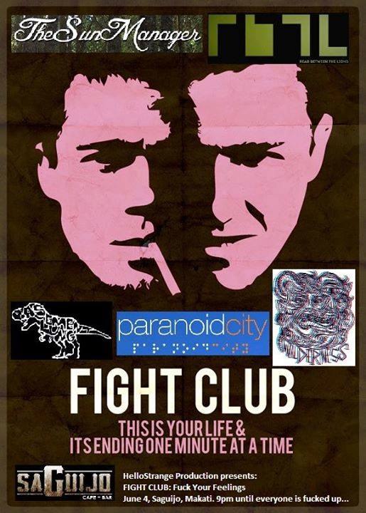 FIGHT CLUB: F*CK YOUR FEELINGS