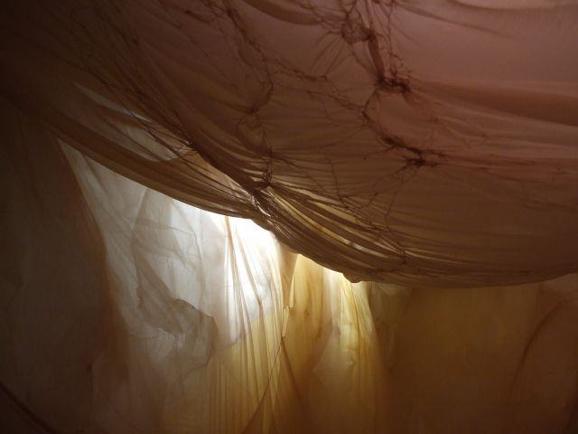image: Section of previous art installation