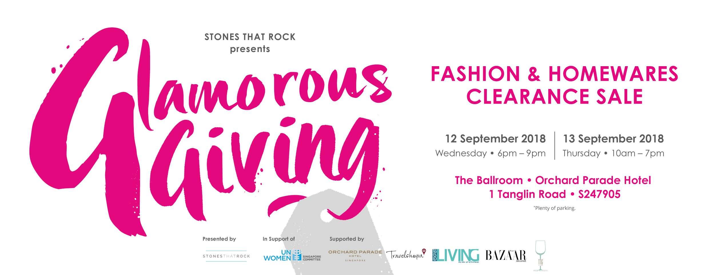 Glamorous Giving cover image | Singapore | Travelshopa