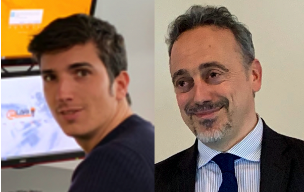 Luca Giusti e Manuel Venè