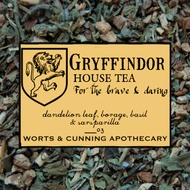 Gryffindor House Tea (Organic) from Worts and Cunning Apothecary