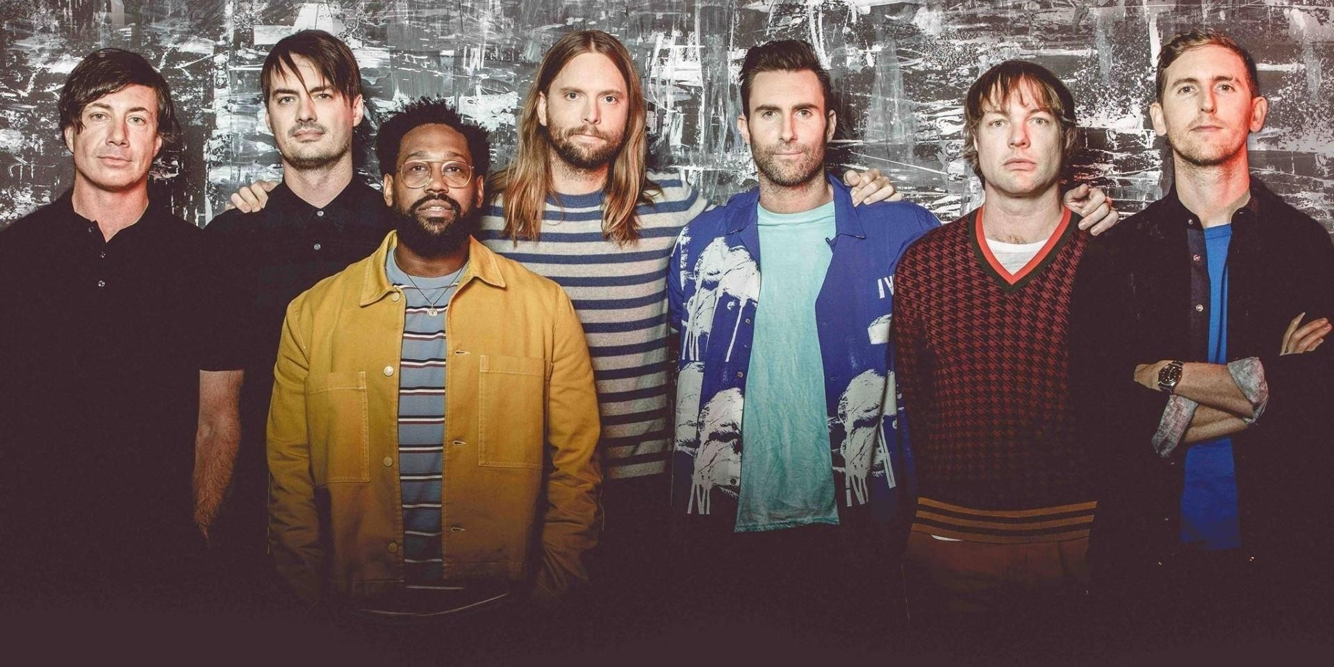 Ticketing info for Maroon 5's #REDPILLBLUES show in Singapore released