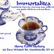 imortalia tea from Home Farm Herbery