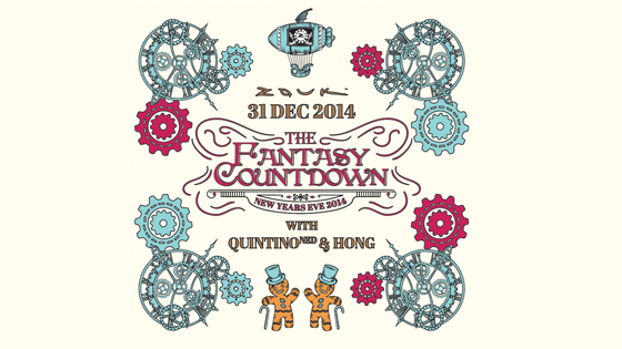 THE FANTASY COUNTDOWN: ZOUK NYE 2014 with Bonobo (UK)