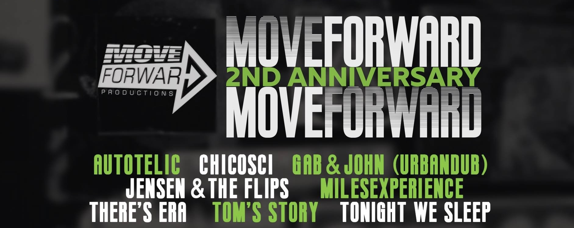 Move Forward 2nd Anniversary