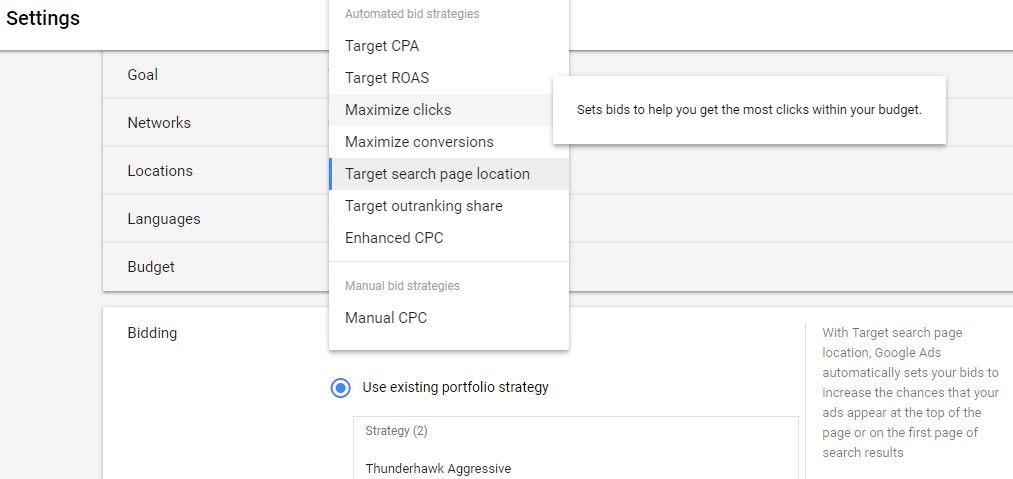 Google Ads Tips and Tricks Bidding Strategy