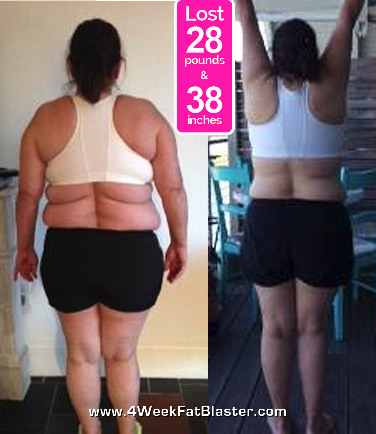 Sandra Before & After Pics - Janis Saffell 4 Week Fat Blaster