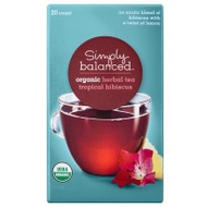 Organic Tropical Hibiscus from Simply Balanced