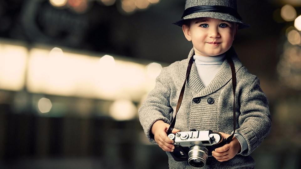 Дети в фотографиях зарубежных фотографов