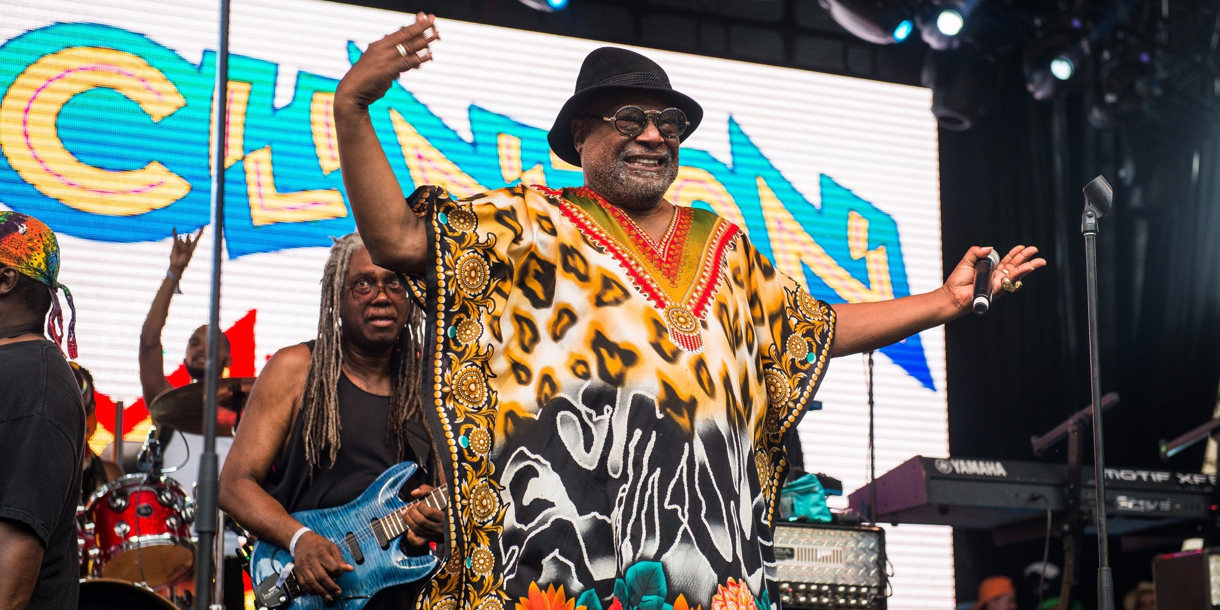 WATCH: George Clinton catches up with old friends The Sugarhill Gang over drinks in Singapore