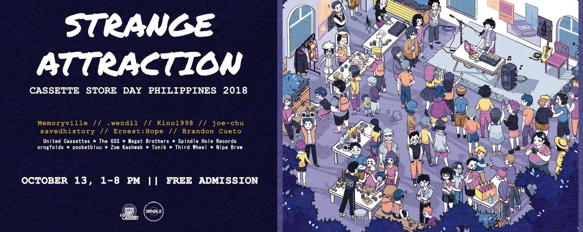 Cassette Store Day Philippines 2018: Strange Attraction